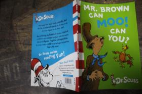 Mr.Brown Can Moo! Can You? (Dr Seuss Blue Back Book) 布朗先生会哞哞叫!你能吗?(苏斯博士蓝背书)