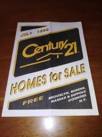 century 21 homes for sale (1996年7月有房出售)