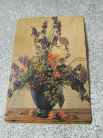 1999年花瓶日历卡片