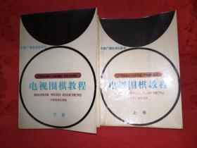 正版现货:电视围棋教程(全二册)