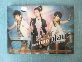 DVD    S.H.E [美少女组合]--PLAY影音馆[玩耍影音馆]