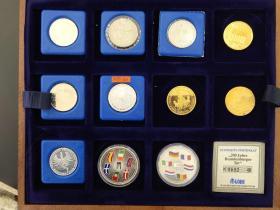 国外 纪念币 硬币 一盒