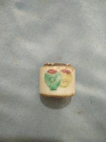 清代同治小瓷罐无盖