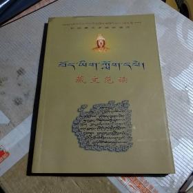 藏文范读--初级藏文多媒体课件(带光盘)
