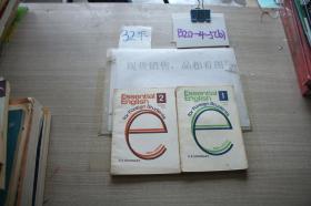 English Essential  StudensBook (1、2) 2本合售