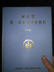 河南省第一次农业普查资料(下卷)