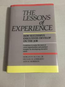 The lessons of experience(最后的经验)
