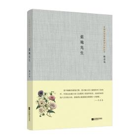 茅盾文学奖获奖者小说丛书:蓝袍先生