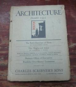 ARCHITECTURE       December  1932