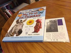 英文原版 my first dictionary :  a fun reference book of first words  我的第一本词典:第一个单词的有趣参考书