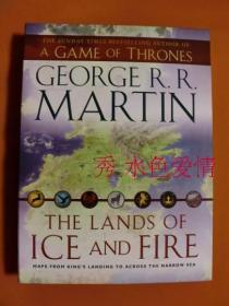 订购冰与火之歌 美版 原版 地图 The Lands of Ice and Fire map