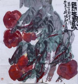 著名画家、中国国画家协会理事 杨树玉 水墨画作品《长寿》一幅 (纸本托片,约7平尺) HXTX100527