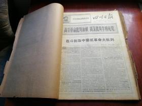 四川日报 1968年11月合订(原报)