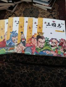 三国志(4.5.6.7.8)5册韩语版