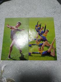 1984年棒操球操日历卡片