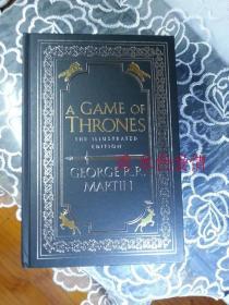 现货权力的游戏20周年插图版英版A Game of Thrones Illustrated A Song of Ice and Fire