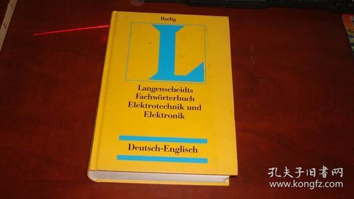 Langenscheidts Fachworter buch Elektrotechnik und Elektronik