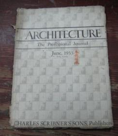 ARCHITECTURE  June,1933