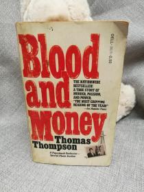 《blood and money》血液和金钱 英文原版