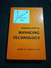 INTRODUCTION TO MANAGING TECHNOLOGY