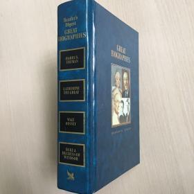 英文原版 reader's digest great biographies(精装彩图)1988