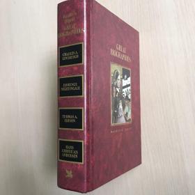 英文原版 reader's digest great biographies(精装彩图)1987年