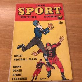 美国漫画 True sport picture stories