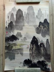 【 保 真 】曾宪高  广 西美术家协会副主席、  国家一级美术师