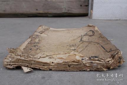 清代民国抄本《祭文对联》,1册,大体品相如图。