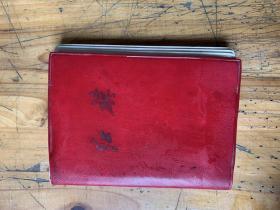 3180:1967年 《红旗》笔记簿,内多毛泽东题词,有林彪题词4个伟大