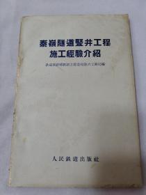 秦岭隧道竖井工程施工经验介绍