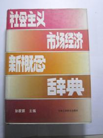 社会主义市场经济新概念辞典