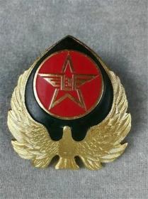 *FWP-精品金属质老徽章老帽徽,极美品