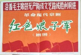 新华社新闻展览照片《革命现代京剧〈红色娘子军〉》(照片·1972年)