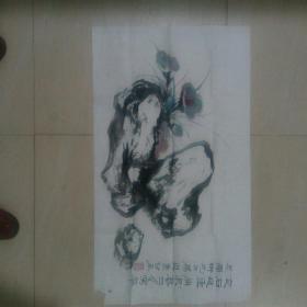 吴寿谷花鸟画(湖州籍老画家)