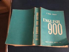 ENGLISH 900 · BOOKS 1一6