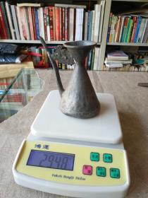 《民国 锡执壶》高13厘米,重294克!!