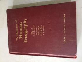 THE DICTIONARY OF HUMAN GEOGRAPHY(包挂刷)