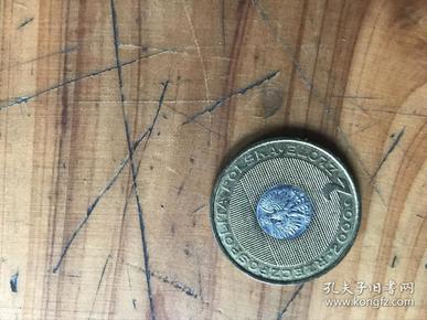 200年RZECZPOSPOLITA POLSKA.波兰铅币一枚