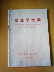 农业学大寨(有语录)