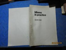 Idioms in practice