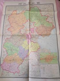 河北省地图·2开  1975年一版一印