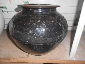 民国黑釉罐(2)