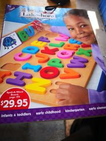 幼儿教具玩具目录 英文