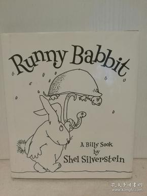 谢尔·希尔弗斯坦 绘本 Runny Babbit A Billy Sook by Shel Silverstein (绘本)英文原版书