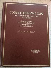 Constitutional Law Cases - Comments-Questions Tenth Edition