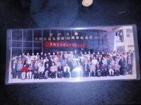 实物照片:南开大学季陶达先生诞辰100周年纪念会 2004.10月(16*38cm)L1