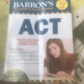 Act (Barrons ACT (W/CD))