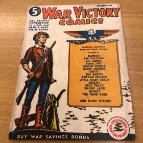 美国漫画 War Victory Comics 1942创刊号