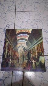 LA PEINTURE AU LOUVRE  法文  卢浮宫的画